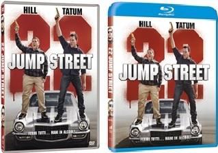 Le cover homevideo di 22 Jump Street