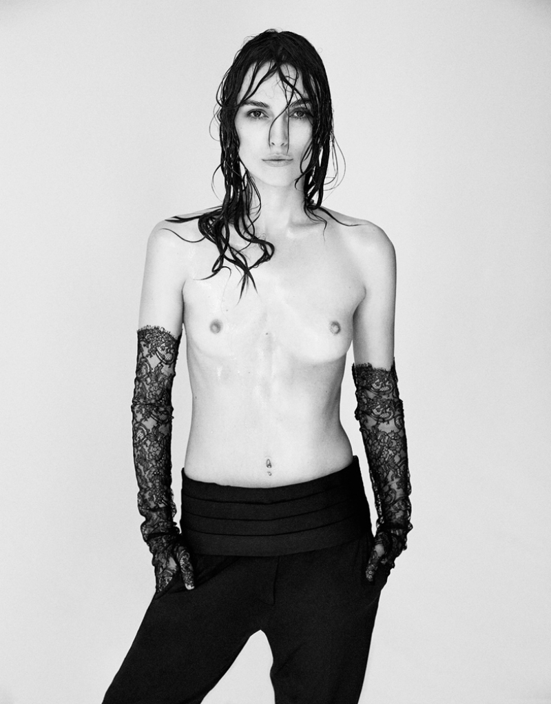 Keira Knightley in topless su Interview