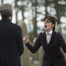 Doctor Who: Michelle Gomez e Peter Capaldi nella puntata Death in Heaven