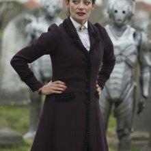 Doctor Who: Michelle Gomez interpreta Missy in una scena di Death in Heaven
