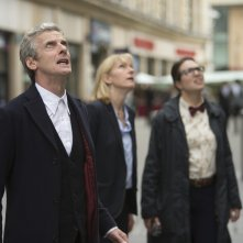 Doctor Who: Peter Capaldi,  Jemma Redgrave e Ingrid Oliver in Death in Heaven