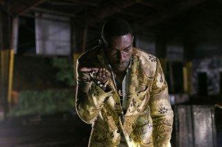 Constantine: l'attore Michael James Shaw in una scena di The Devil's Vinyl