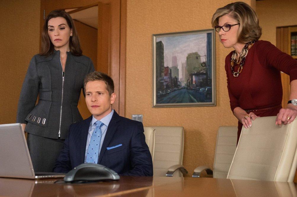 The Good Wife: una sequenza dell'episodio Red Zone