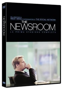 la cover DVD di The Newsroom - Stagione 1