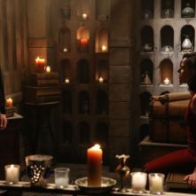 C'era una volta: Sean Maguire e Lana Parrilla in una scena di The Snow Queen