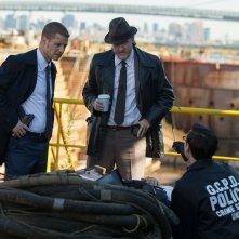 Gotham: Ben McKenzie, Donal Logue e Cory Michael Smith in La maschera
