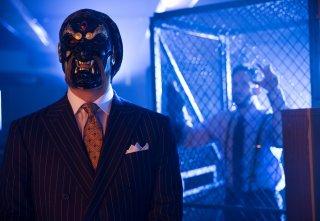 Gotham: Todd Stashwick in una scena della puntata La maschera