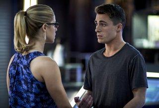 Arrow: Emily Bett Rickards e Colton Haynes nell'episodio Guilty