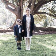 The Babadook: Essie Davis in una foto promozionale con Noah Wiseman