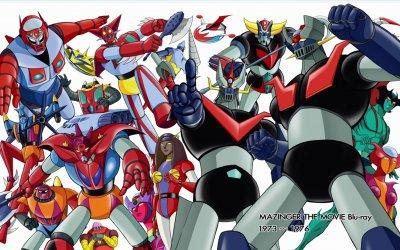 Goldrake, Mazinger, Getter & CO.: l'universo dei robot di Go Nagai