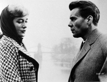 Victim - Sylvia Syms e Dirk Bogarde in una scena