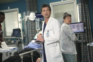 Grey's Anatomy: Patrick Dempsey interpreta il dottor Derek Shepherd in Could We Start Again, Please?