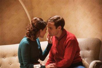 Gentlemen: David Dencik con Ruth Vega Fernandez in una scena del film