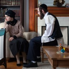 Felix & Meira: Hadas Yaron e Luzer Twersky in una scena del film