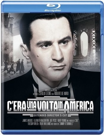 La cover del blu-ray di C'era una volta in America - Extended Director's Cut
