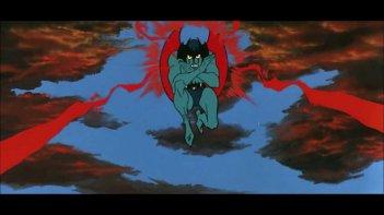 Devilman: una scena della serie di Go Nagai