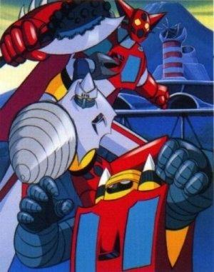 Getter Robot: un'immagine della serie
