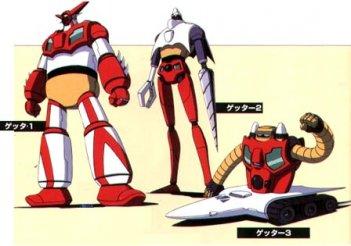 I tre Getter Robot