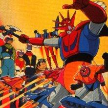 Getter Robot G: un'immagine della serie
