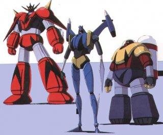 Getter Robot G: i robot della serie