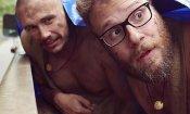 James Franco e Seth Rogen nella parodia di Nudi e Crudi