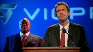 Dr House: Hugh Laurie nell'episodio Un candidato a rischio