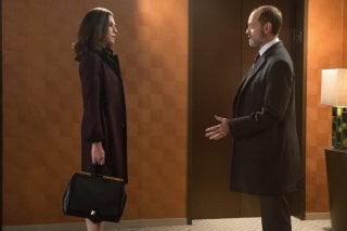 The Good Wife: Julianna Margulies e David Hyde Pierce nell'episodio intitolato Sticky Content