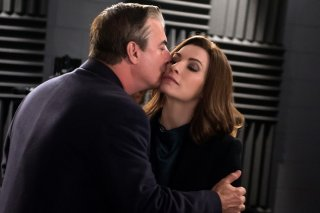 The Good Wife: Chris Noth e Julianna Margulies nella puntata intitolata Sticky Content