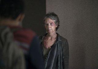 The Walking Dead: Melissa McBride interpreta Carol nella puntata Consumed