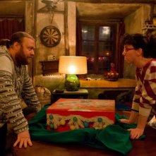 Ogni maledetto Natale: Caterina Guzzanti con Stefano Fresi in un'immagine del film