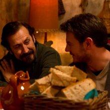 Ogni maledetto Natale: Alessandro Cattelan in una scena con Marco Giallini