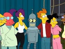 Simpsorama: un momento tratto dal crossover tra I Simpson e Futurama