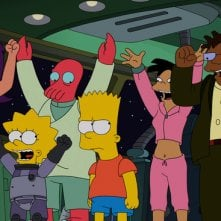 Simpsorama: un'immagine dell'episodio crossover tra I Simpson e Futurama