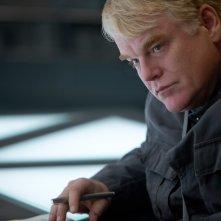 Philip Seymour Hoffman in Hunger Games: Il Canto della Rivolta - Parte 1