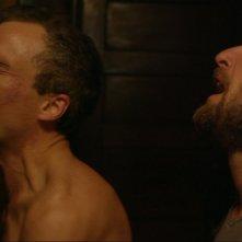 The Mend: Josh Lucas con Stephen Plunkett in una concitata scena