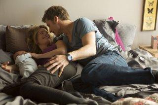A Second Chance: Nikolaj Coster-Waldau con Maria Bonnevie in una tenera scena familiare tratta dal film