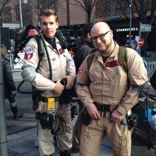 Berlino 2014: fan aspettano Bill Murray vestiti da Ghostbusters