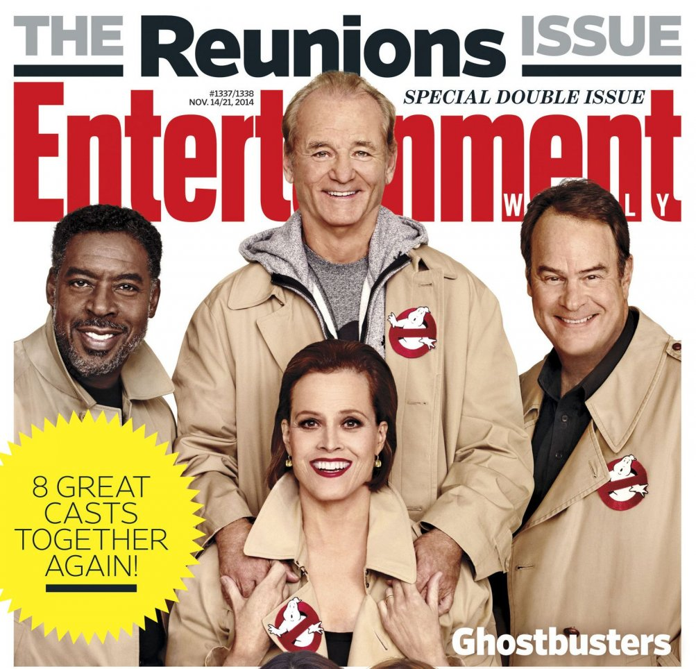 Ghostbusters Reunion per EW