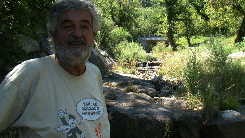 Qui: Guido Fissore in una scena del documentario