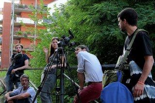 Let's Go: Antonietta De Lillo sul set con il suo staff