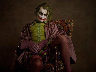 Joker rinascimentale in una foto di Sacha Goldberger