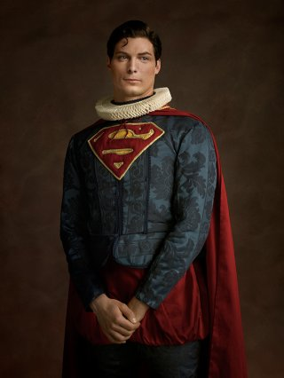 Superman rinascimentale in una foto di Sacha Goldberger