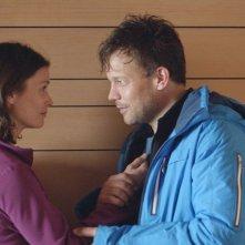 Force Majeure: Lisa Loven Kongsli con Johannes Bah Kuhnke in una scena del film