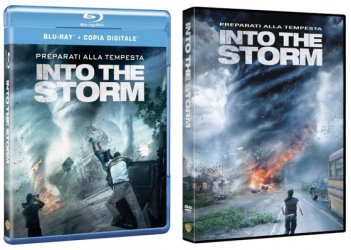Le cover homevideo di Into the Storm