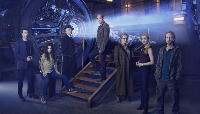 12 Monkeys: un'immagine del cast al completo
