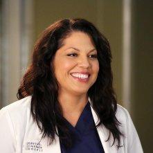 Grey's Anatomy: Sara Ramirez in una scena dell'episodio intitolato Risk