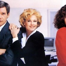 Una donna in carriera: Harrison Ford, Melanie GRiffith e Sigourney Weaver