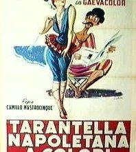 Locandina di Tarantella napoletana