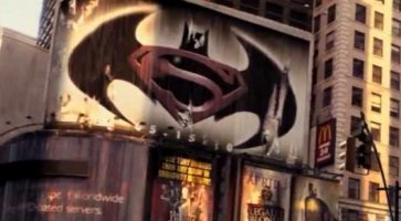 Batman V Superman Il Giallo Del Manifesto In I Am Legend