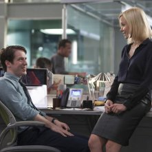 The Newsroom: John Gallagher Jr. e Alison Pill nella puntata Contempt